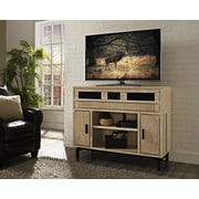 Turnkey LLC Soho 48'' Deluxe TV Stand w/ Built-In Surround Sound; Natural