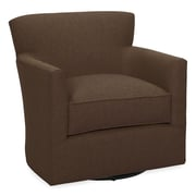 Tory Furniture Rowan Swivel Arm Chair; Chocolate