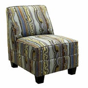 Serta Upholstery Armless Chair; Florence Confetti