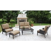 Bellini San Rafael Woven 5 Piece Deep Seating Group with Cushions