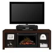 Dimplex Beasley TV Stand w/ Electric Fireplace; Log Set