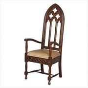 Design Toscano Viollet-le-Duc Gothic Cathedral Arm Chair