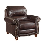 Wildon Home   Leather Arm Chair