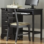 Carolina Furniture Works, Inc. Platinum Computer Desk; Black