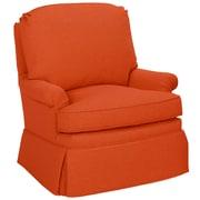Tory Furniture Luca Club Chair; Tangelo