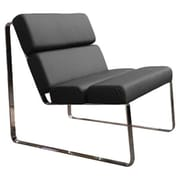 Whiteline Imports Angel Side Chair; Black