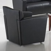 OfficeSource Tribeca Chair; Black