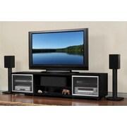 Plateau SR Series TV Stand; Black Oak