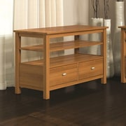 Caravel Carabus Entertainment Console With One Drawer And One Fixed Shelf; Praline