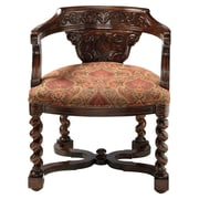 Design Toscano Brussels Library Bergere Arm Chair
