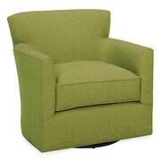 Tory Furniture Rowan Swivel Arm Chair; Grass