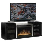 Dimplex Marana TV Stand with Electric Fireplace; Black