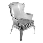 Florida Seating Pedrali Arm Chair; Smoke