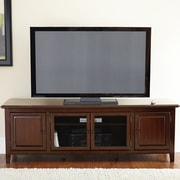 Steve Silver Furniture Clairmont TV Stand; Cherry