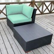 Bellini Pasadina 2 Piece Deep Seating Group with cushions; Blue