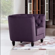 Diamond Sofa Bellini Button Tuft Club Chair