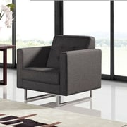 Diamond Sofa Opus Tufted Arm Chair; Grey