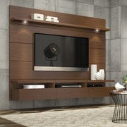 Manhattan Comfort Cabrini Entertainment Center 2.2; Nut Brown