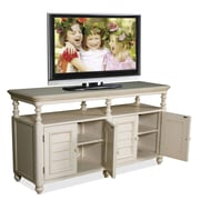 Woodhaven Hill TV Stand; White