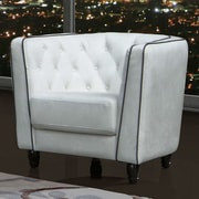 DG Casa Warwick Barrel Chair; White