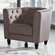 DG Casa Warwick Barrel Chair; Taupe