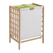 Honey Can Do Bamboo Grid Frame Hamper Natural (HMP-03770)