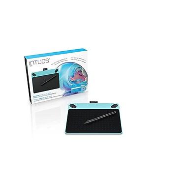 Tablette tactile et à stylet Intuos Art, petit format, bleu menthe