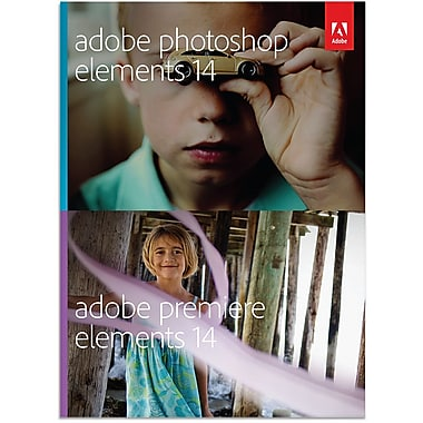 Adobe – Photoshop Elements 14 et Premiere Elements 14 pour Windows et Mac, version Étudiants et enseignants (téléchargement)