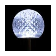 Queens of Christmas G40 LED Incandescent Light Bulb; Pure White