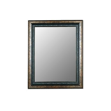Hitchcock Butterfield Company Milano Bronzed Black Wall Mirror; 40'' W x 79'' H