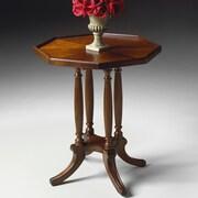 Butler Plantation Cherry Octagon End Table; Plantation Cherry