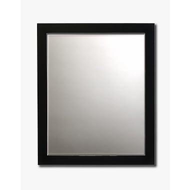 Printfinders Wall Mirror; 30'' H x 26'' W x 1'' D