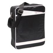 Preferred Nation Retro Messenger Bag; Black