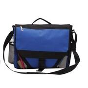 Preferred Nation Messenger Bag; Blue