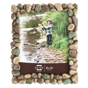 Prinz River Rocks Resin Picture Frame; 8'' x 10''