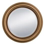 Prinz Palazzo w/ Beaded Profile Styrene Wall Mirror; Antique Gold