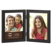 Prinz 2 Opening Sonoma Hinged Wood Picture Frame; 5'' x 7''
