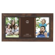 Prinz 3 Opening Monterey Wood Picture Frame; Espresso