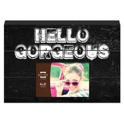 Prinz More Than Words 'Hello Gorgeous' Photo Plaque Picture Frame