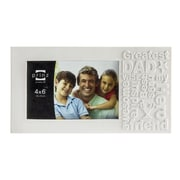 Prinz 'Dad' Together Time Matte Resin Picture Frame