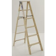 Michigan Ladder 4.1 ft Wood Step Ladder w/ 300 lb. Load Capacity