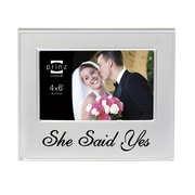 Prinz 'She Said Yes' Love Notes Metal Picture Frame