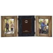 Prinz Three Opening Woodlands Hinged Picture Frame