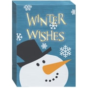Prinz ''Winter Wishes'' LED Textual Art Plaque