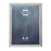 Prinz Empire Shiny Metal Picture Frame; 4'' x 6''