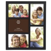 Prinz 5 Opening Sonoma Wood Picture Frame; Black