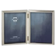Prinz 2 Opening Empire Hinged Metal Picture Frame; 5'' x 7''