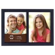 Prinz 2 Opening Sonoma Wood Picture Frame; Black