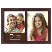Prinz 2 Opening Sonoma Wood Picture Frame; Espresso