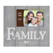 Prinz It's Only Natural 'Family' Picture Frame; Gray
